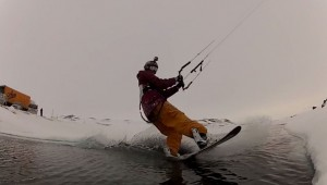 snowkite in norway