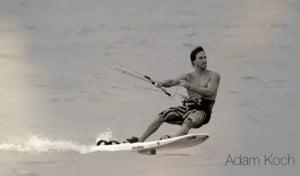 Adam Koch - kitesurf Race