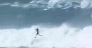 Kitesurf-crash