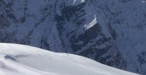 Snowkite-alpes