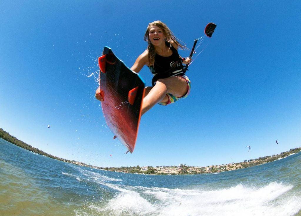 Hannah Whiteley-kitesurf-girl