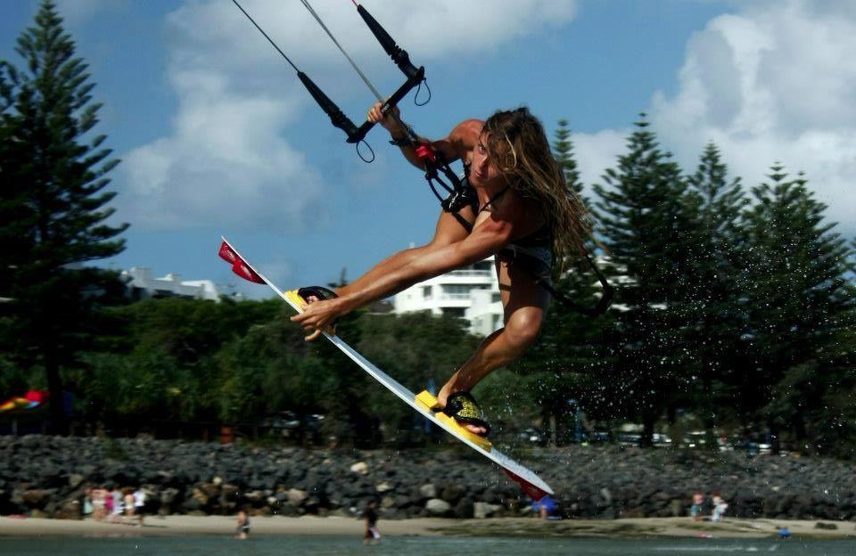 Katarzyna Lange-kiteboarding