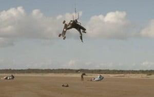 Kitesurf-mountainboard