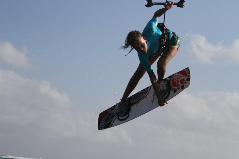 Annabel van Westerop-kitesurf