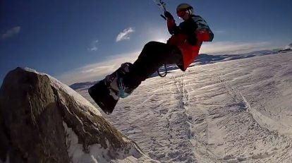 Snowkite-norvege