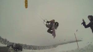 Bruno Gagne-snowkite