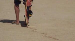 Blade-kiteboarding