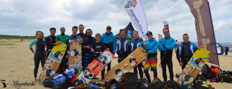ecole de kitesurf belge