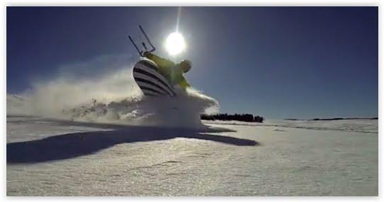 Snowkite-Jackson, Wyoming