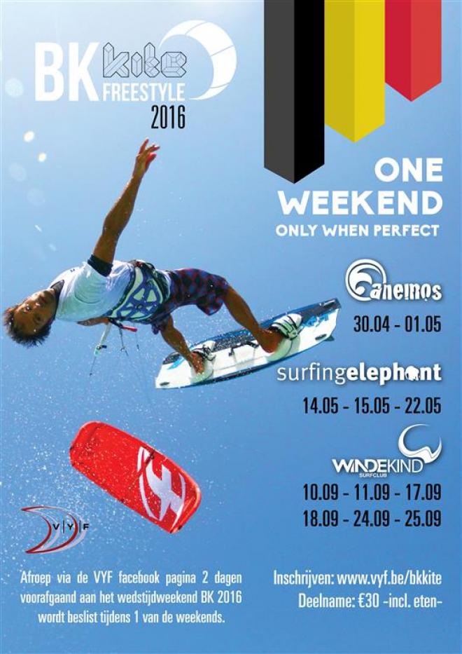 BKkite 2016:. De Belgische Kampioenschappen kitesurfen Freestyle!